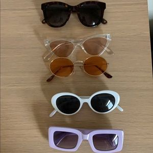 Sunglasses: Urban Outfitters, Anthropologie, FP